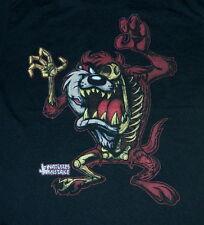 Looney Tunes Zombie Tasmanian Devil TAZ Figure Black T-Shirt SIZE XL NEW UNWORN