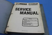 OEM Mercury 1991 Models 70/75/100 3/4 Cyl Service Manual PT# 90-13645--2