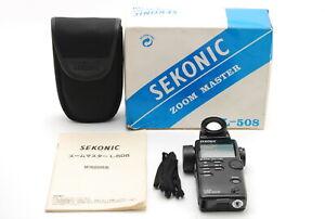[Top MINT IN BOX]  Sekonic L-508 Zoom Master Digital Light Meter From JAPAN 1419
