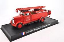 Fire Engine France 1937 Autopompe Berliet AP80 HP metal 1/57 Fire Vehicle