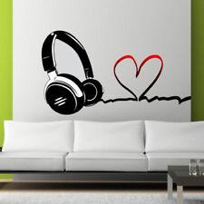 Décorations murales et stickers fenêtre en musique pour la maison