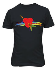 Tom Petty & The Heartbreakers Shirt Logo Heart Guitar Mens & Youth T-Shirt