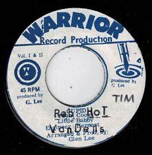 "PRINCE ALLAH & VANDELLS-red hot     warrior 7""    (hear)    reggae roots"