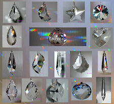 Sun catcher Hanging Crystal Drop Rainbow Prism Feng Shui Wind Chime Special Sale