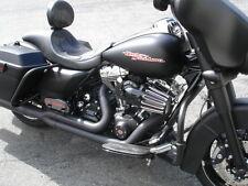 Harley-Davidson W/Backrest Black Flame fits 97-07 Road King Street Glide FLH 136