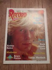RECORD MIRROR MAGAZINE OCTOBER 8th 1983 EXCELLENT CONDITION