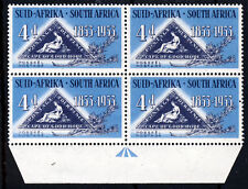 SOUTH AFRICA 1953 Stamp Centenary Block WITH BROKEN KNEE VARIETY SG 145a MNH/LMM