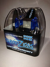 white/blue tint 9005 HB3 Xenon HID look High Beam Headlights Bulbs 8000K 65W