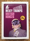 BRITISH NONCES (First Edition) top Meaty Trumps - mint cond OOP ltd ed of 2,000