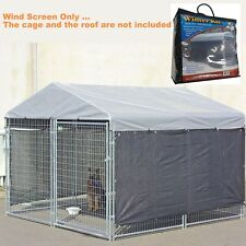 Wind Screen Extra Large Weatherguard For Big Dog Kennel Cage Pet Outdoor Heavy D