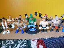 WWE Rumblers assorted lot 11 Slam City Mini Action Figures Cena Kane Lesnar Rio