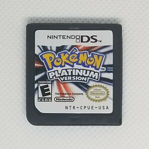 Nintendo DS Pokemon: Platinum Version Game Card for 3DS Lite NDSI DSI Fast Ship