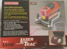 CRAFTSMAN 4-in-1 LEVEL WITH LASER TRAC MODEL 320.48247