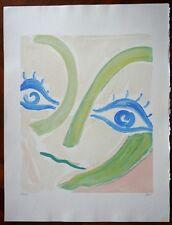 VIRGILIO GUIDI serigrafia ''LE GRANDI TESTE''( rif. 4/1)