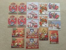 More details for 18 x gordon fraser christmas cards - country companions by kate veale - unused