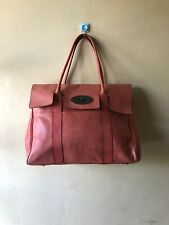 MULBERRY Natural Leather Bayswater Coral