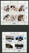 Marshall Islands 2017 MNH Father Christmas Trees Nativity 10v on 2 M/S Stamps