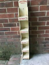 """Hav-A-Tampa Cigar Wooden Store Display Rack 35"""" tall 24-39 cents per pack"""