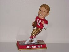 JOE MONTANA San Francisco 49ers Bobble Head 2016 NFL Legends Series 1 Edition