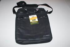 Eddie Bauer Laptop Briefcase Soft Black EBWAX16V-BLK