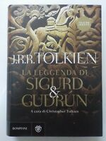 La Leggenda di Sigurd & Gudrun - Tolkien - 1° Edizione 2009 -COMPRO FUMETTI SHOP