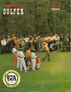 1966 JUNE Professional Golfer magazine golf  GOOD