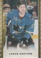 2014-15 Upper Deck Masterpieces Hockey #57 Logan Couture San Jose Sharks