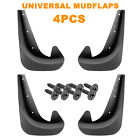 Car Mud Flaps Splash Guard Fenders For Front Or Rear W Hardware - Universal Fit