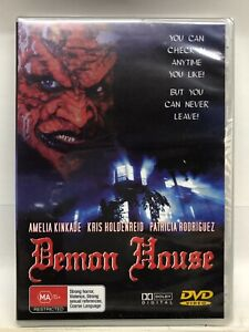 Demon House - DVD - AusPost with Tracking - New Sealed