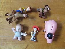 Disney 3 inch PVC Toy Story lot of 6 Hamm Jessie Woody Bullseye