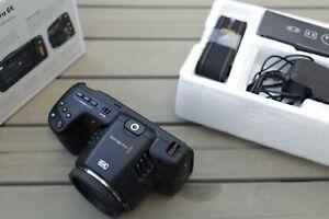 Blackmagic Pocket Cinema Camera 6K Canon EF - wie NEU mit OVP -12bit RAWUHD&4K