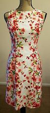 Lauren Ralph Lauren Women's Spring Summer Dress Sz 0 White Pink Flowers SALE!!!!