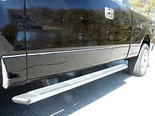 2009-2014 FORD F-150 10 Piece Stainless Steel Body Side Molding Accent Trim