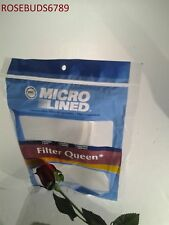 FILTER QUEEN Vacuum Cleaner CONE 12PK WITH DISC FILTER PAPER BAG