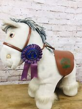 Cabbage Patch Kids Show Pony 1984 Coleco Horse Doll Saddle Bridle Ribbon