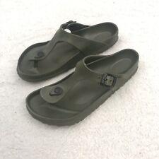 Birkenstock 40 EU | 9.5 US Gizeh Sandal Green Flip Flop Thong Women