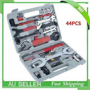 44pcs MTB Mountain Bike Bicycle Cycling Chain Maintenance Repair Tool Wrench Kit