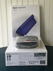 NEW Dyson Supersonic Hair Dryer Limited Edition Gift - Factory Sealed-Iron/Blue