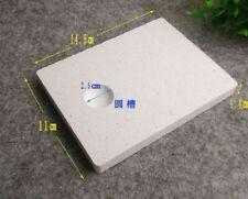 Insulating Firebrick 14.5x11x1.4cm Straight Fire Brick Handwork Thermal Welding