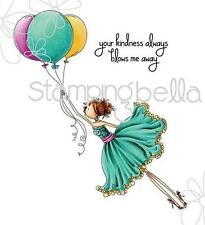 New Stamping Bella Cling Rubber Stamp Uptown Girl Bentley Gets Blown Away