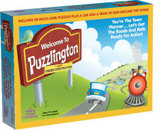 Welcome To Puzzlington! - Fun Family Board Game - The Happy Puzzle Company
