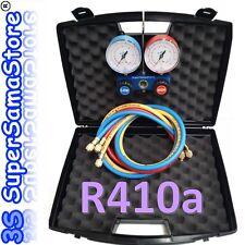 3S SET MANOMETRICO a 2 VIE per GAS REFRIGERANTE R410A in VALIGETTA con FRUSTE