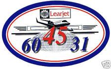 New LearJet 31 45 60 Business Jet Sticker Lear Jet ICT