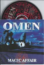 MAGIC AFFAIR - Omen CD ALBUM 14TR PROMO CARDSLEEVE 1994 Eurodance RARE!!!