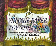 ☆ ☆ plantillas de teatro de juguete de papel vintage imágenes 100's ☆ Print, cortar, hacer! ☆