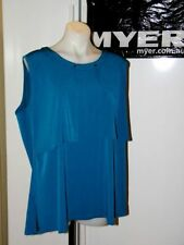 Cotton Blend Plus Size Sleeveless Tops & Blouses for Women