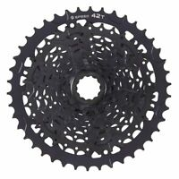 MicroShift Advent 9-Speed Cassette With Alloy Large Cog Black ED - 11 - 42T