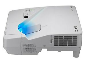 NEC NP-UM351W LCD Projector Ultra Short Throw 3500 ANSI HD 1080p HDMI +LAMP BULB