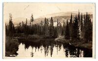 RPPC Main Inlet, Payette Lake, McCall, Idaho Real Photo Postcard *6L3