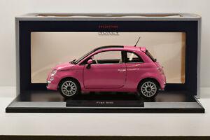 "FIAT 500 ""SO PINK"" 2010 NOREV 1/18 NEUVE EN BOITE"